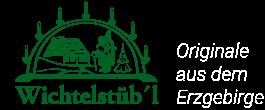 Wichtelstübl - Holzkunst aus dem Erzgebirge-Logo